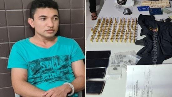 policia prende jovem passava oficial justica