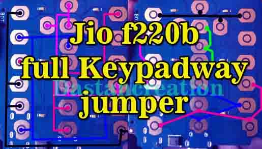 Jio F220b All Keypad Not Working Solution