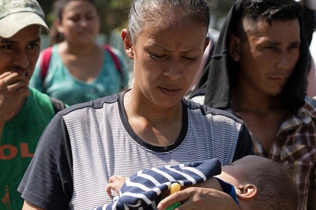 Mexico braces for 'mother of all caravans' and claims 20,000 migrants are heading for the border - but activists say there are only 206 people and numbers are being inflated so Trump administration can 'create fear'