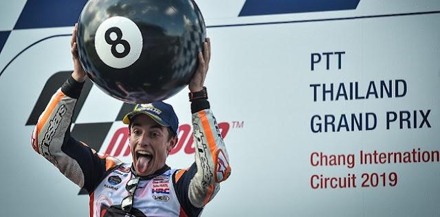 Kegagalan Pada 2015, Kunci Sukses Marc Marquez Juarai MotoGP 2019