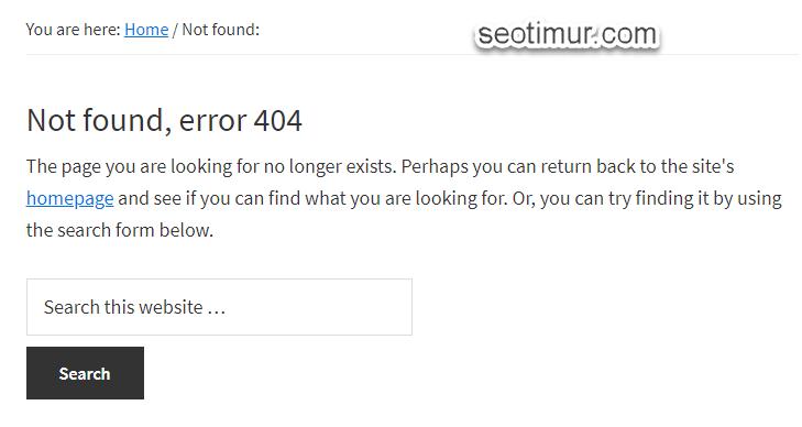 Halaman 404