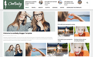 CoolBaby Fashion Template