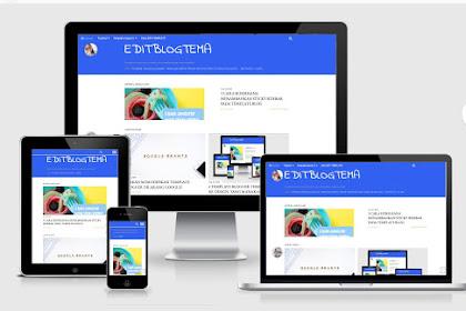 Dua cara membuat profile keren di template editblog SOHO