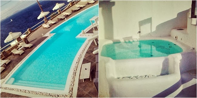 Rocabella hotel pool and jacuzzi