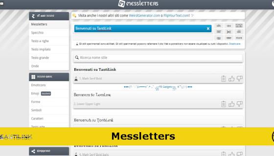 Crea testi online da condividere dove vuoi (con Messletters)