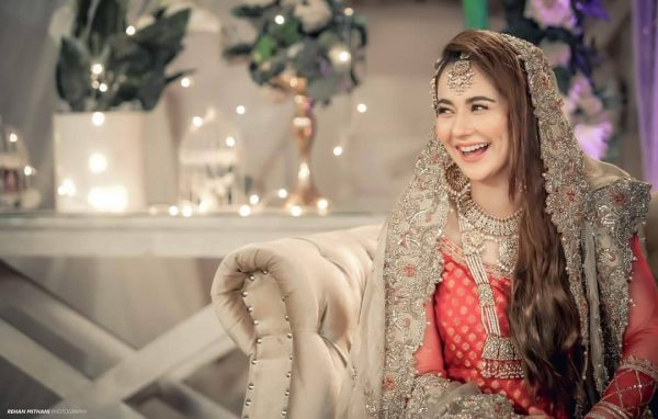 Hania Amir and Feroze Khan ethereal pictures from Drama Serial Ishqiya