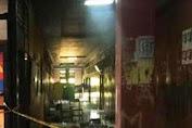 Ruangan Fak.Tehnik Unhas Makassar Dibakar Massa