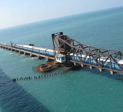 Pamban connects hearts of the devotees in the rameshwaram island