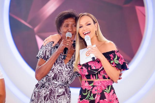 Dona Georgina e Eliana  Foto:Gabriel Cardoso /SBT