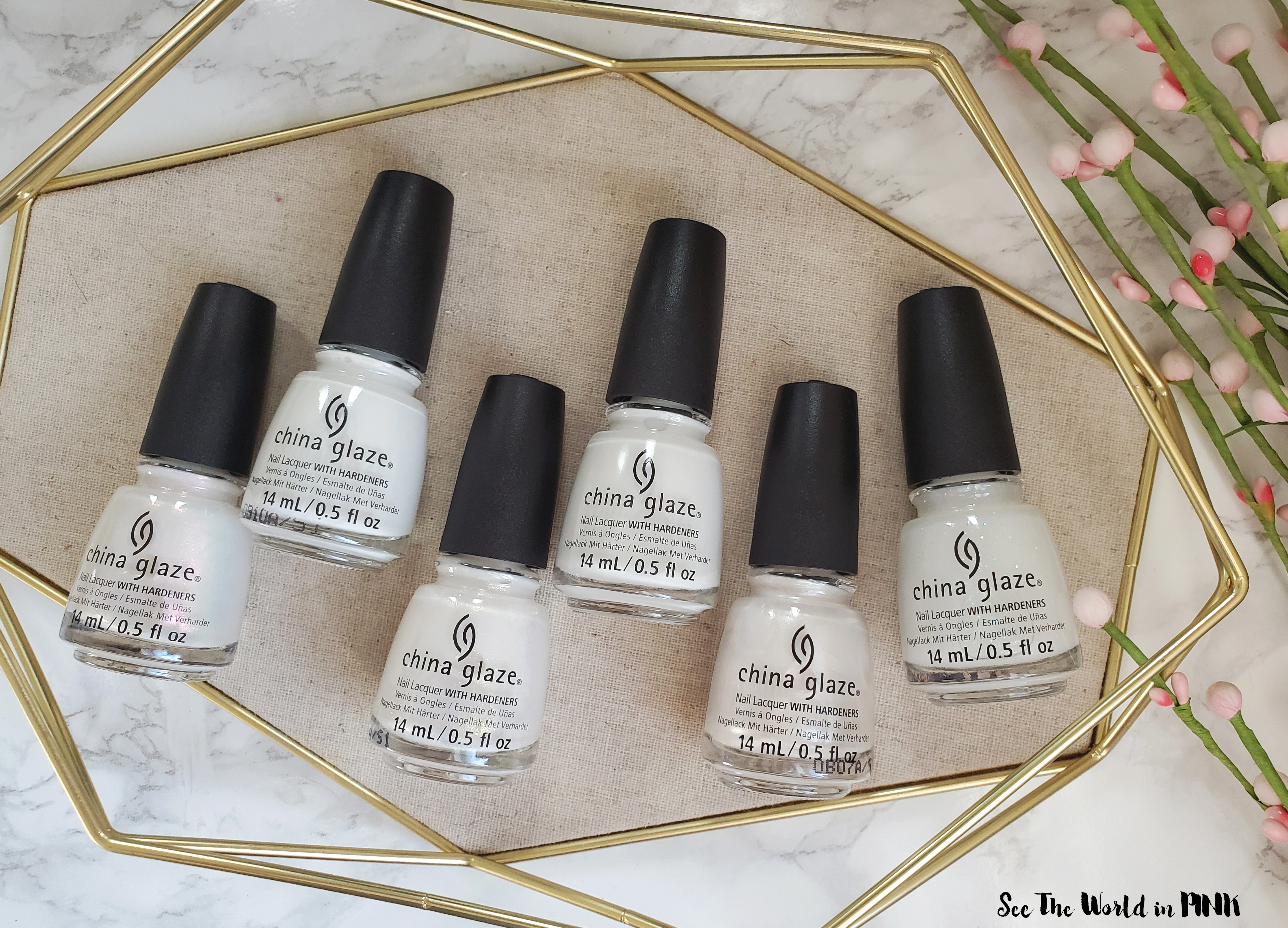 Manicure Monday - China Glaze White Hot Summer 2020 Collection