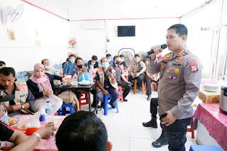 Bid Humas Polda Sulsel Undang Wartawan ke Mapolda Sulsel,  Gelar Coffe Morning