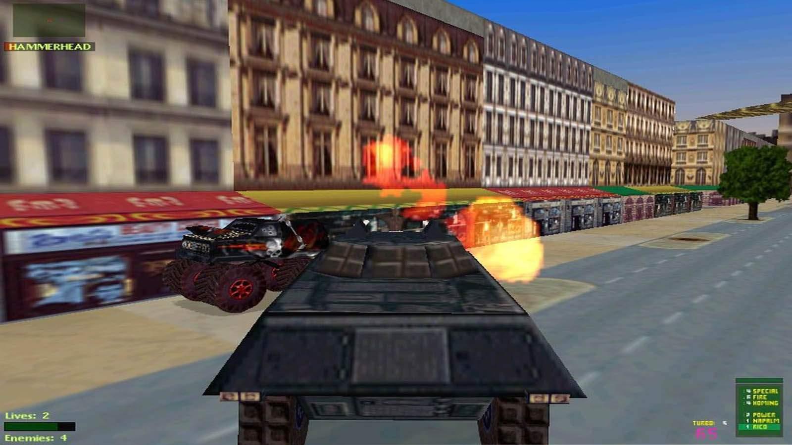 تحميل لعبة Twisted Metal 2 مضغوطة برابط واحد مباشر كاملة مجانا