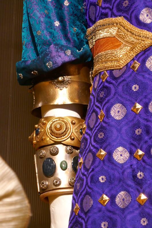 Aladdin Genie costume bracelets