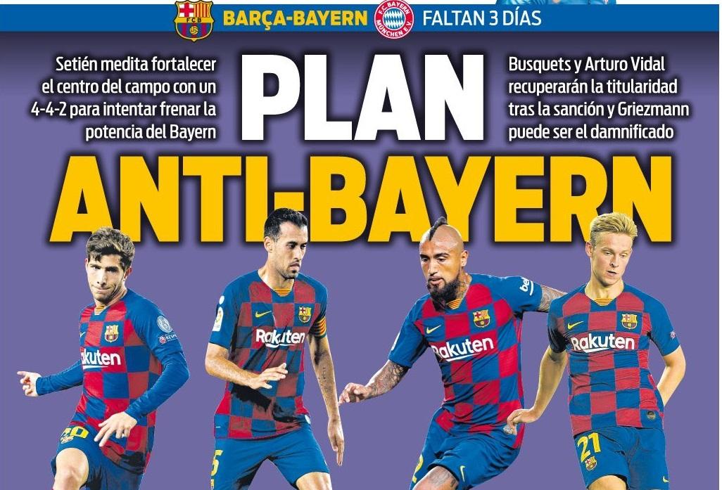 Barca tính 'hi sinh' Griezmann để khắc chế Bayern