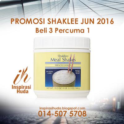 promosi, shaklee, jun 2016, meal shakes, ramadhan, puasa, vitamin, suplemen, buasir, sembelit, penghadaman, gastrik, gum arabic,
