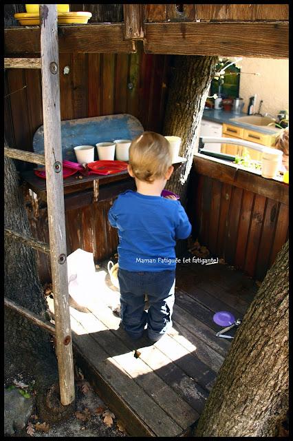 cabane arbre enfant