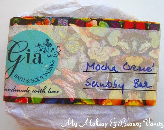 Gia Bath & Body Works Mocha Creme Scrubby Bar+Gia Bath & Body Works+Bath & Body Works+ best body scrub+ best exfoliating body scrub