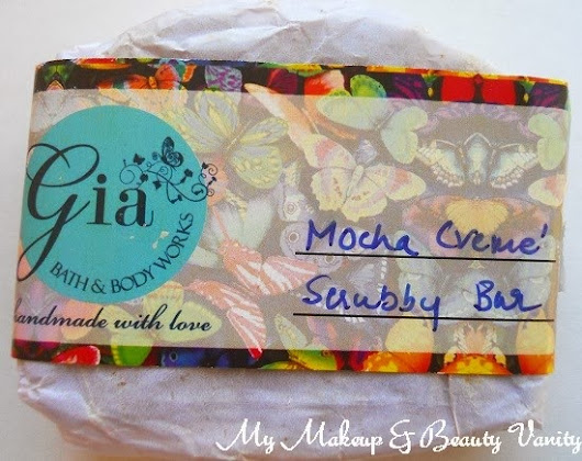 "Gia Bath & Body Works ""Mocha Creme Scrubby Bar""- A Body Scrub That Means Business ♥"