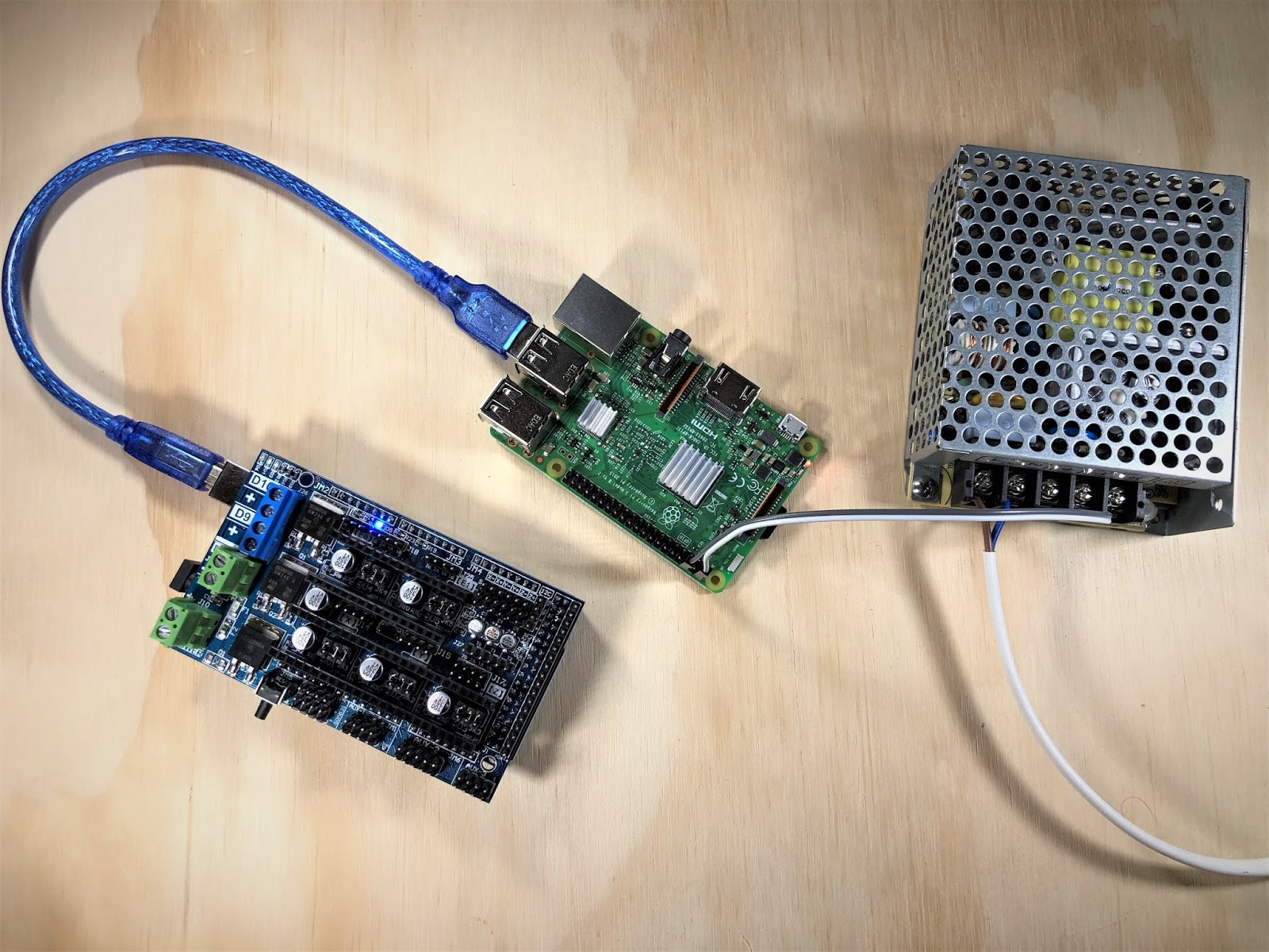 Electronics #3: Setting up the first RAMPS with Klipper