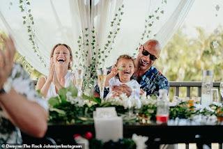 Dwayne 'The Rock' Johnson shares more photos from his Hawaiian wedding