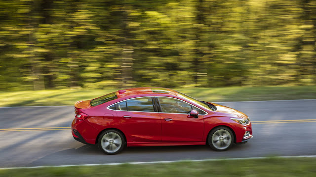 New Chevrolet Cruze LT-chevy Plain 2016 side view