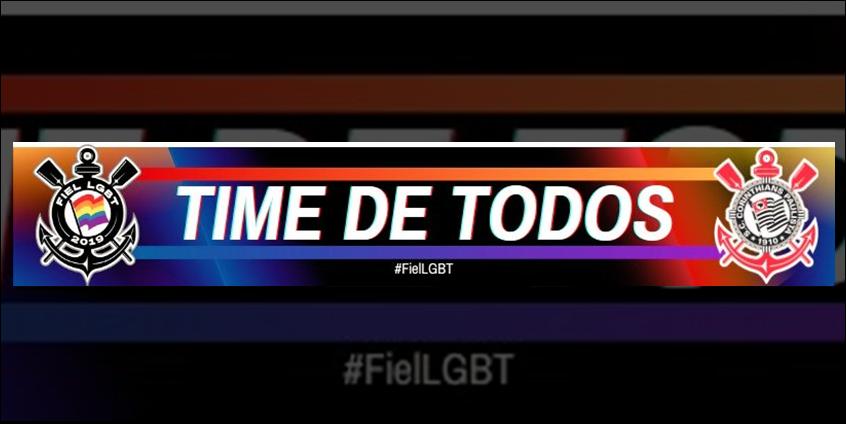 Fiel LGBT elabora faixa e entrará com pedido para expor na Neo Química Arena - É o Time do Povo - Notícias do Corinthians