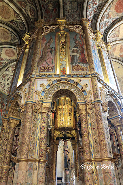 Charola de la iglesia del Convento de Tomar