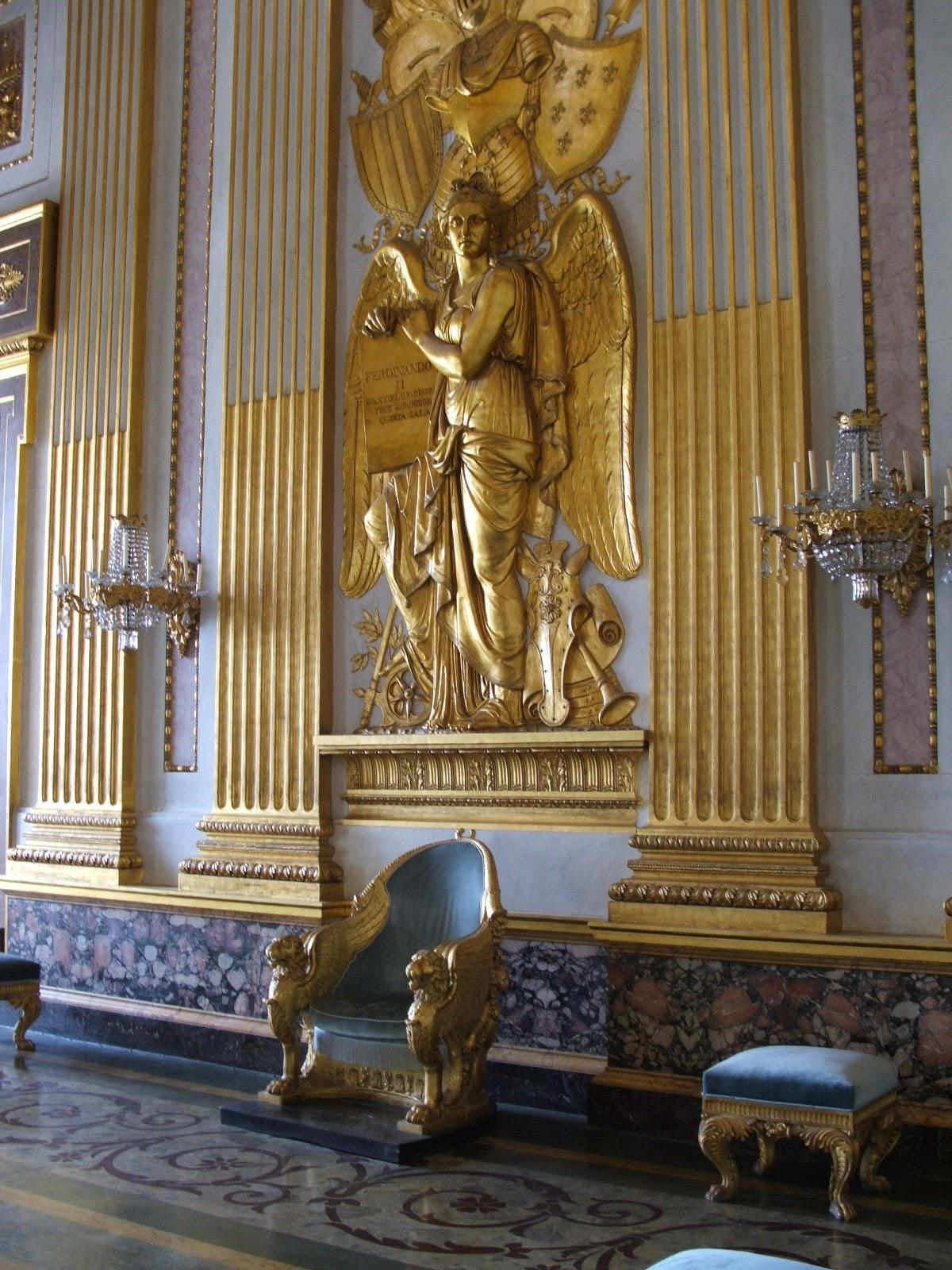 Devoluciones gratuitas (obra de 1148271) Royal Palace Of Caserta A Triumph Of Italian Baroque Tutt Art Pittura Scultura Poesia Musica
