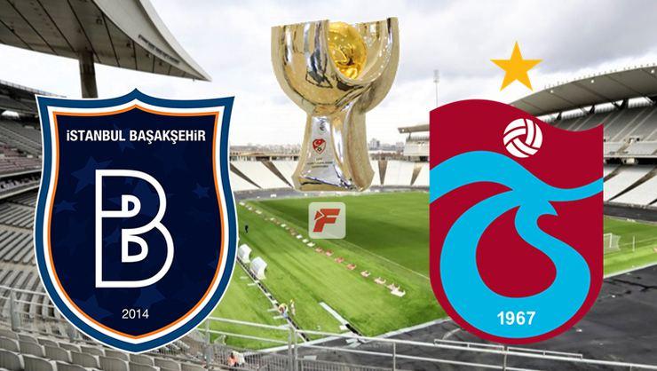 Başakşehir - Trabzonspor A Spor Türkiye Süper Kupası Canlı izle