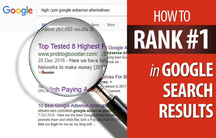 Increase Search Ranking
