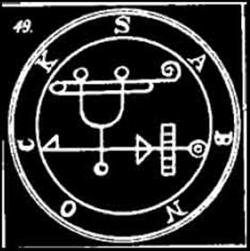 sabnock, sigilo, goetia, daemon, ocultismo