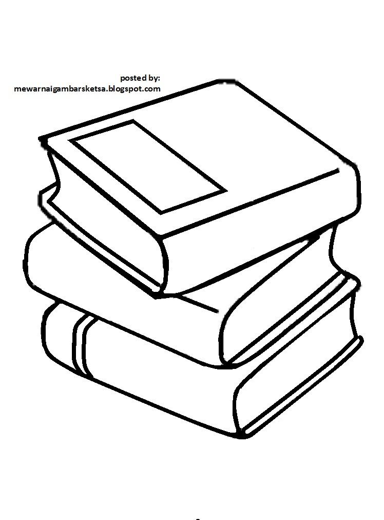 Mewarnai Gambar Mewarnai Gambar Sketsa Buku 2