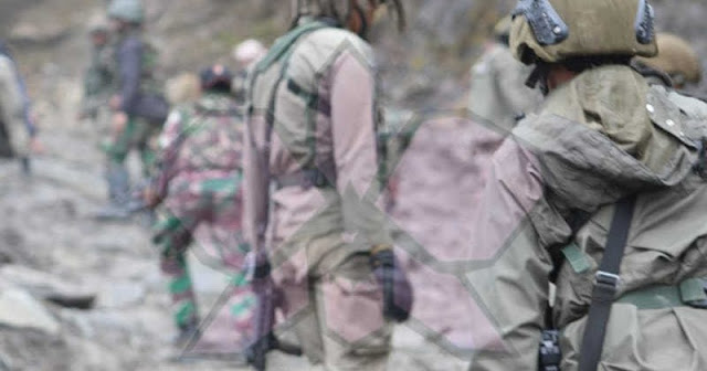 Kontak Tembak di Nduga, 3 Prajurit TNI Terkena Luka.lelemuku.com.jpg