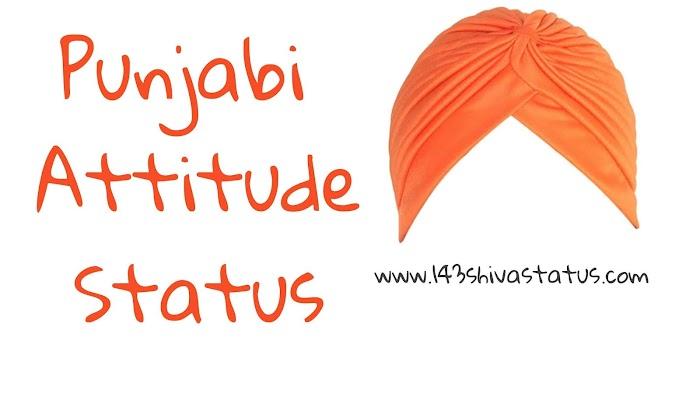 50 + Punjabi Attitude status For Whatsapp