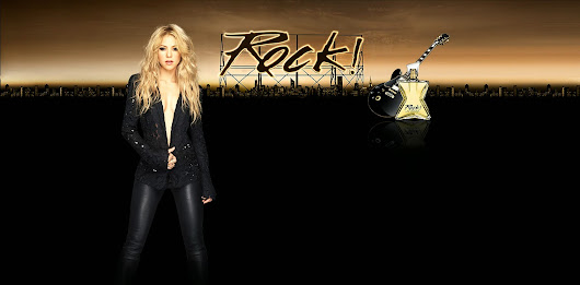Shakira - myshakiblog: Wallpaper HQ Rock by Shakira