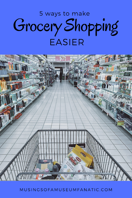 5 Ways To Make Grocery Shopping Easier