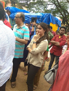 Keerthy Suresh at Pandalam in Kerala