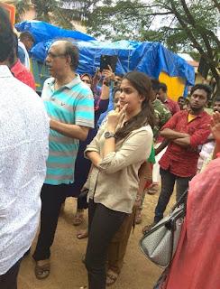 Keerthy Suresh at Pandalam in Kerala