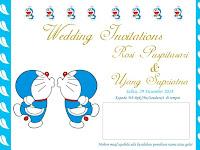 Undangan Nikah yang Unik dan Lucu dengan Harga Murah