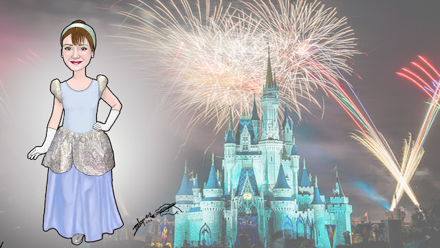 Você de princesa - Um sonho de menina  #princesa