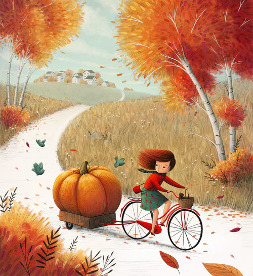 Autumn Ride by Ramona Kaulitzki