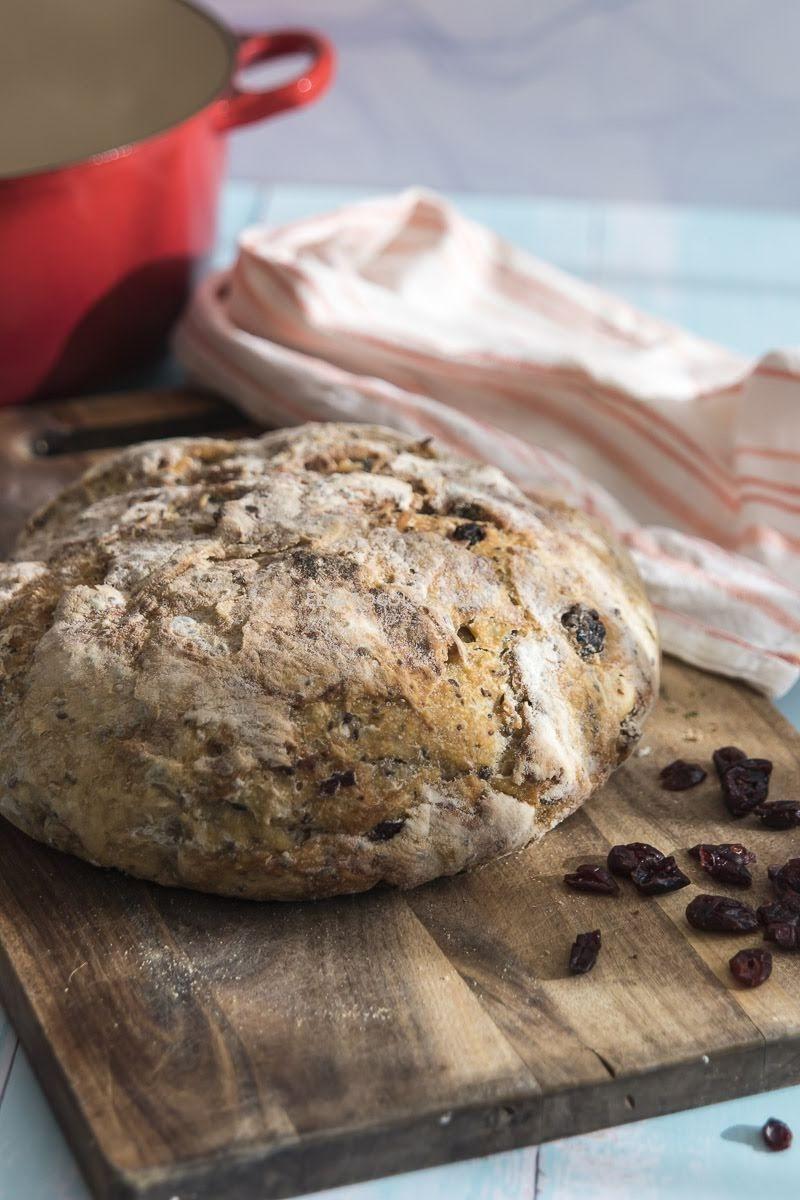 no knead bread, este es el pan mas facil del mundo via elgatogoloso.com
