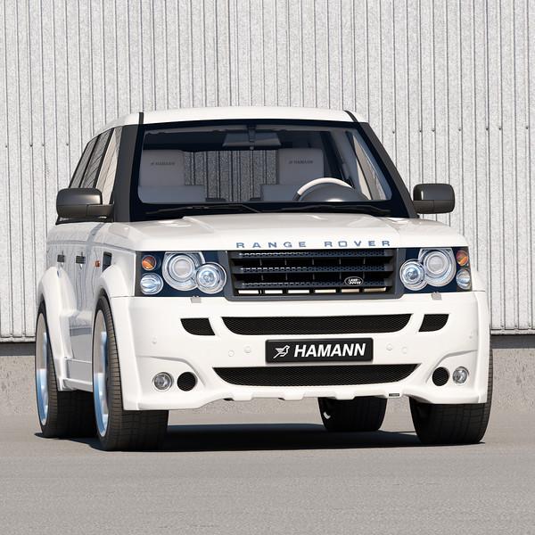 sport car garage hamann range rover sport 2013. Black Bedroom Furniture Sets. Home Design Ideas