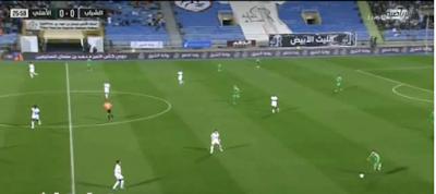 اهداف مباراة الشباب والاهلي السعودي