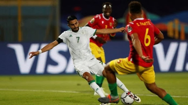 الجزائر إلى دور الثمانيه كأس الأمم الأفريقية
