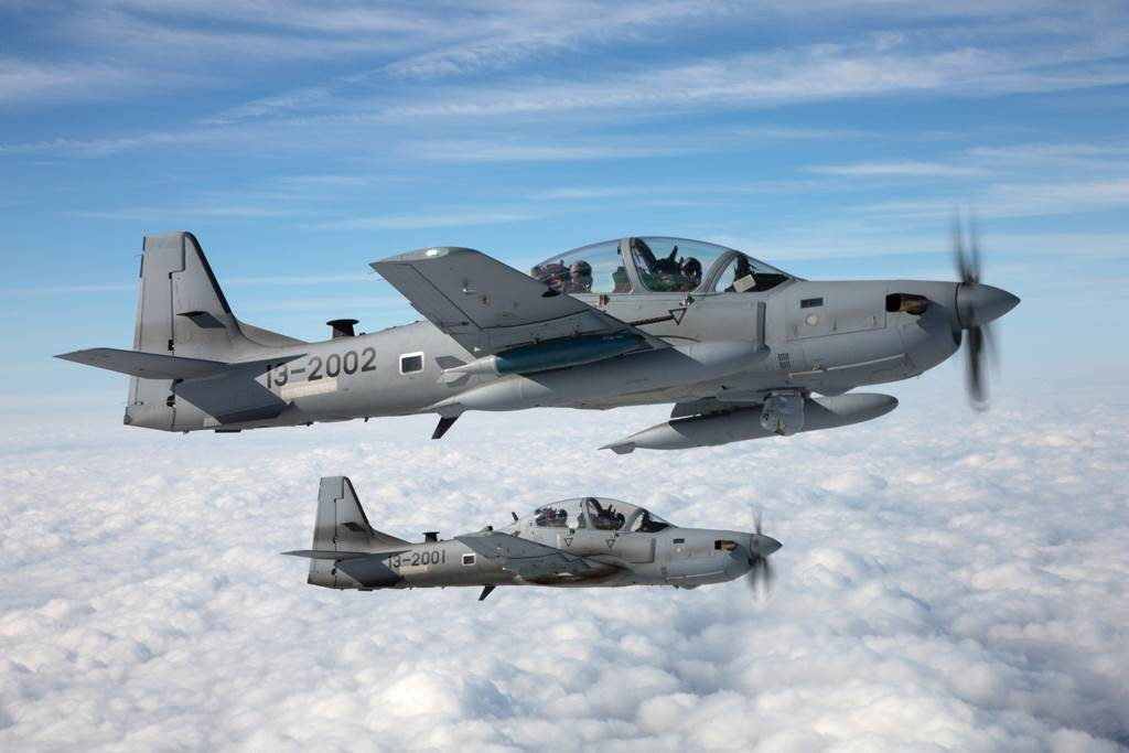 Sierra Nevada awarded contract to deliver 12 A-29 aircraft to