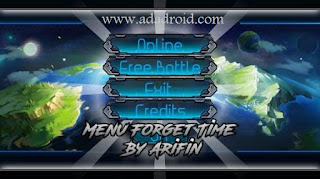 Menu Naruto Senki Forget Time by Arifin