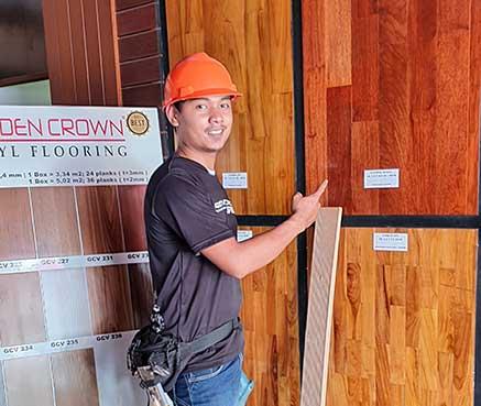 marketing lantai kayu