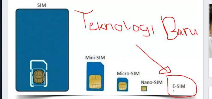 Cara Pakai eSim, Teknologi Baru Ganti SIM Card Tak Perlu Kartunya
