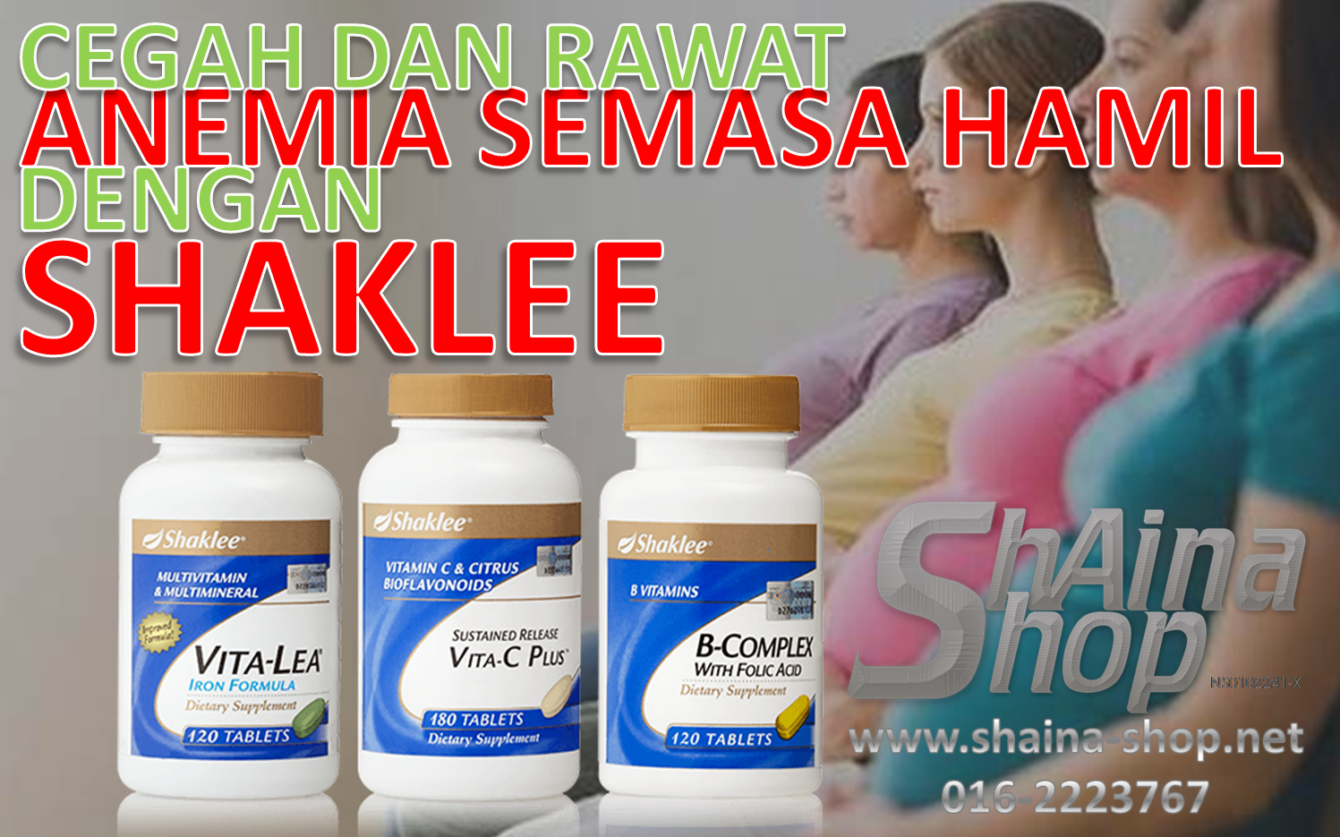 Set Anemia Semasa Hamil Shaklee